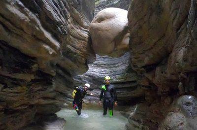 Canyoning in Valbelluna